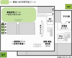 千代田区千代田図書館無線LANサービス